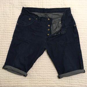 Gap light denim shorts